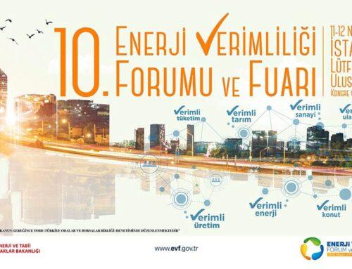 10. Enerji Verimliliği Forumu ve Fuarı Başarıyla Tamamlandı