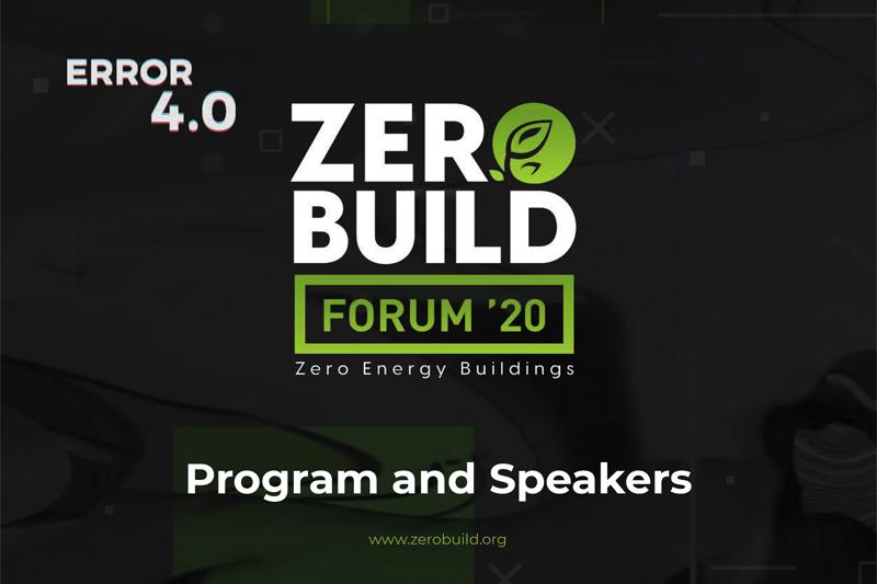 """24 Eylül 2020'de """"Sıfır Enerjili Bina Forumu""""nda(Zero Building Forum) Buluşalım"""