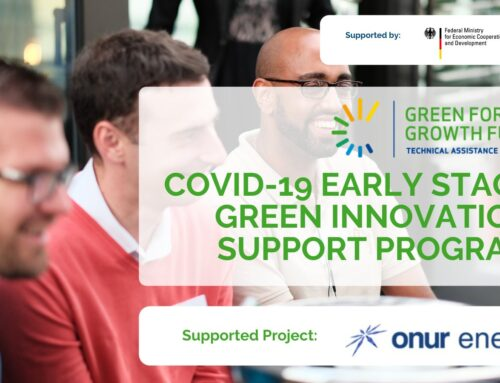 Enerji Projelerimize GGF'ten Covid19 Desteği